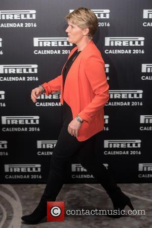 Clare Balding - 2016 Pirelli Calendar Launch held at the Grosvenor House. at Grosvenor House - London, United Kingdom -...