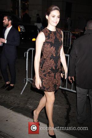 EMMY ROSSUM - 25th Annual Gotham Independent Film Awards - Outside Arrivals at Cipriani Wall St. - New York City,...