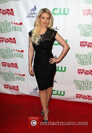 Holly Madison - 2015 Hollywood Christmas Parade at Hollywood Blvd, Hollywood Christmas Parade - Hollywood, California, United States - Monday...