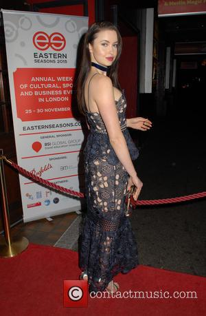 Emma Miller - Eastern Seasons Week gala dinner at Madame Tussauds - Arrivals at Madame Tussauds - London, United Kingdom...