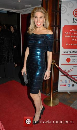 Hofit Golan - Eastern Seasons Week gala dinner at Madame Tussauds - Arrivals at Madame Tussauds - London, United Kingdom...