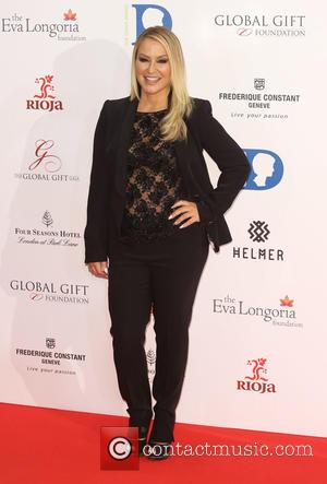 Anastacia - The Global Gift Gala 2015 held at the Four Seasons Hotel - Arrivals - London, United Kingdom -...