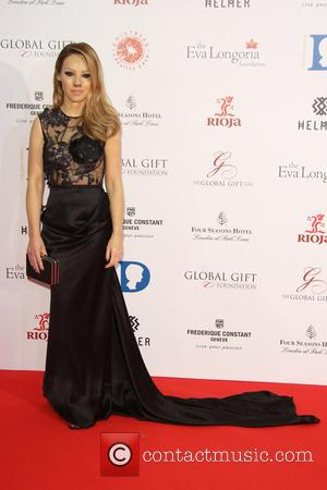 Katie Piper - The Global Gift Gala 2015 held at the Four Seasons Hotel - Arrivals - London, United Kingdom...