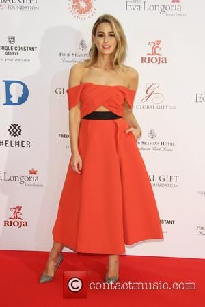 Rachel Stevens - The Global Gift Gala 2015 held at the Four Seasons Hotel - Arrivals - London, United Kingdom...