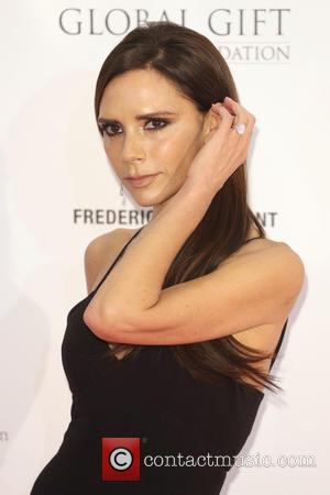 Victoria Beckham Launching Make-up Collection With Estee Lauder