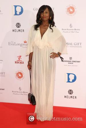Michelle Gayle - The Global Gift Gala 2015 held at the Four Seasons Hotel - Arrivals - London, United Kingdom...