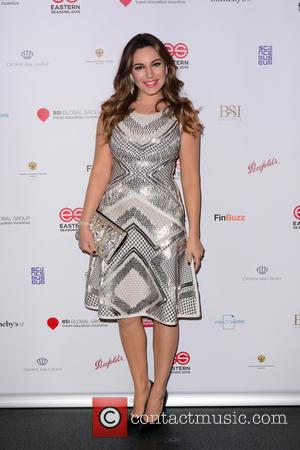 KELLY BROOK - Eastern Seasons Week gala dinner at Madame Tussauds - Arrivals at Madame Tussauds - London, United Kingdom...