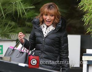 Lorraine Kelly - Birthday girl Lorraine Kelly outside ITV Studios - London, United Kingdom - Monday 30th November 2015