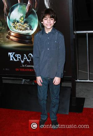 Emjay Anthony - Los Angeles premiere of 'Krampus' at the ArcLight Cinemas Hollywood - Arrivals - Los Angeles, California, United...