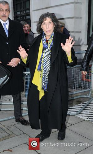 Lily Tomlin - Lily Tomlin at BBC Radio 2 - London, United Kingdom - Tuesday 1st December 2015