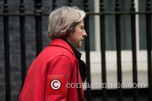 Theresa May - Ministers arrive at Downing Street for a Cabinet meeting. - London, United Kingdom - Tuesday 1st December...