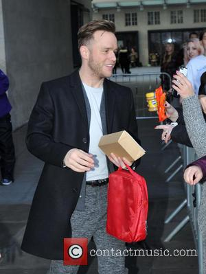 Olly Murs - Olly Murs at BBC Radio 1 - London, United Kingdom - Tuesday 1st December 2015