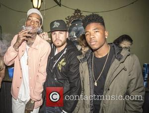 wiz khalifa, dave o'philly , lil caine the artist - Celebrity guests attend Snoop Dogg's premiere of his short film...