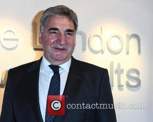 Jim Carter - Cast members from Downton Abbey attend an event with Team GB Special Olympics medal winners at The...