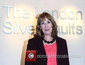 Phyllis Logan - Cast members from Downton Abbey attend an event with Team GB Special Olympics medal winners at The...