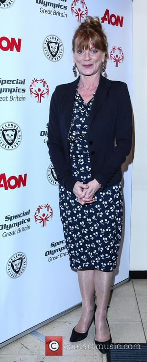 Samantha Bond - Cast members from Downton Abbey attend an event with Team GB Special Olympics medal winners at The...