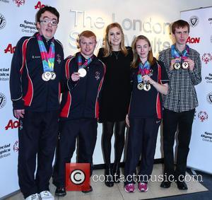 Laura Carmichael, Daniel Woolf, Matt Dodds, Mitchell Camp , Georgina Maton - Cast members from Downton Abbey attend an event...