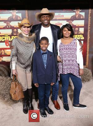 Terry Crews, Rebecca Crews and Kids