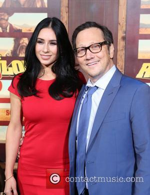 Patricia Azarcoya Schneider and Rob Schneider