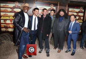 Terry Crews, Taylor Lautner, Adam Sandler, Luke Wilson, Jorge Garcia and Rob Schneider