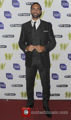 Rio Ferdinand - 2015 BT Sport Action Woman Awards - Arrivals - London, United Kingdom - Tuesday 1st December 2015