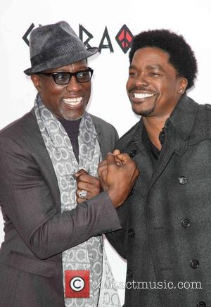 Wesley Snipes and George Willborn