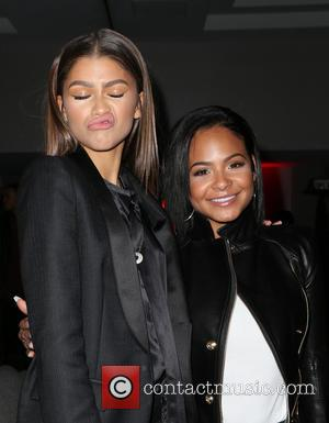 Zendaya , Christina Milian - Inaugural World AIDS Day Benefit Presented by UnAIDS- USA and Africa Rising at Sofitel Los...