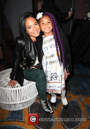 Christina Milian , Violet Madison Nash - Inaugural World AIDS Day Benefit Presented by UnAIDS- USA and Africa Rising at...