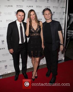 Ruben Torres, Hilary Swank and Jason Binn