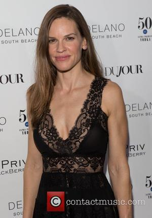 Hilary Swank Debuts Athleisure Clothing Collection