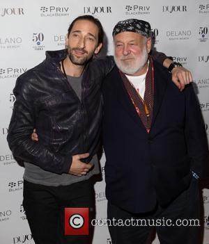 Adrien Brody and Bruce Weber