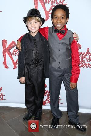 Jake Katzman , Jeremy T. Villas - Party for Wayne Brady's opening night in Broadway musical 'Kinky Boots' held at...