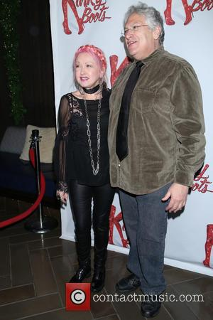 Cyndi Lauper , Harvey Fierstein - Party for Wayne Brady's opening night in Broadway musical 'Kinky Boots' held at the...