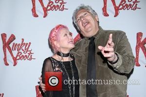 Cyndi Lauper and Harvey Fierstein