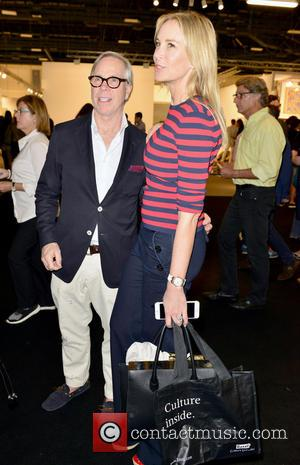 Tommy Hilfiger , Dee Ocleppo - Art Basel Miami Beach - VIP preview at the Miami Beach Convention Center at...