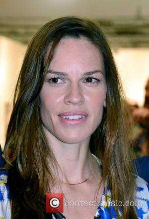 Hilary Swank - Art Basel Miami Beach - VIP preview at the Miami Beach Convention Center at Miami Beach Convention...