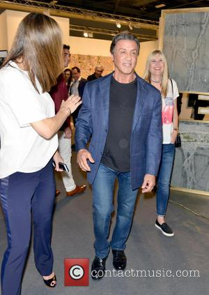 Sylvester Stallone - Art Basel Miami Beach - VIP preview at the Miami Beach Convention Center at Miami Beach Convention...