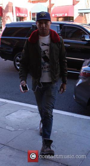 Pharrell Williams - Pharrell Williams out and about in Beverly Hills at beverly hills - Beverly Hills, California, United States...