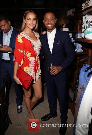 Arielle Kebbel and Terrence J