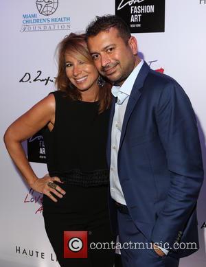Jill Zarin and Kamal Hotchandani