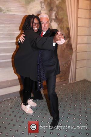 Whoopi Goldberg and John O'hurley