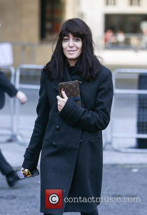 Claudia Winkleman - Celebrities at BBC Broadcasting House - London, United Kingdom - Wednesday 2nd December 2015
