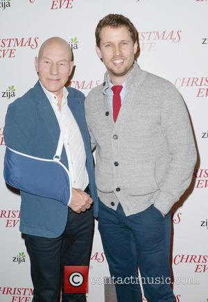 Patrick Stewart and Jon Heder