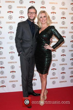 Denise Van Outen , Eddie Boxshall - Cosmopolitan Ultimate Women Of The Year Awards held at One Mayfair. - London,...
