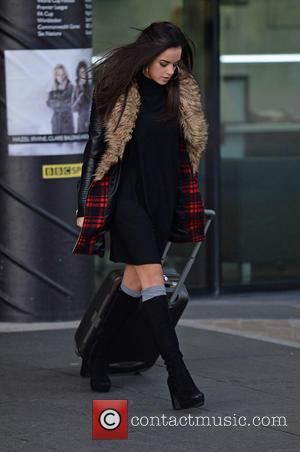 Georgia May Foote - Georgia May Foote leaves the BBC Breakfast Studio Media City - Manchester, United Kingdom - Wednesday...