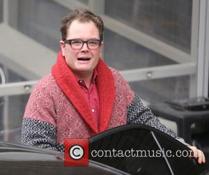 Alan Carr - Alan Carr outside ITV Studios - London, United Kingdom - Wednesday 2nd December 2015