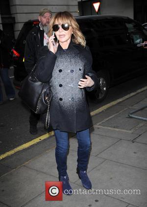 Lulu - Lulu arrives at the BBC Radio 2 studios - London, United Kingdom - Wednesday 2nd December 2015