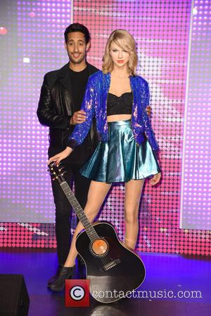Sami Slimani and Taylor Swift