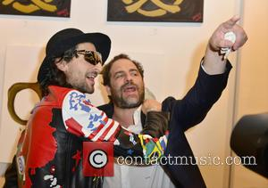 Adrien Brody and Brett Ratner