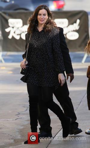 Liv Tyler - Liv Tyler arrives at the ABC studios for Jimmy Kimmel Live! in Hollywood - Los Angeles, California,...